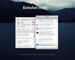 Echofon mod UPDATED by YaroManzarek