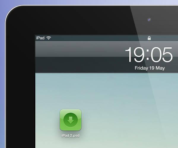 iPad 2 psd - black by YaroManzarek on DeviantArt