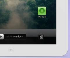 iPad 2 psd - white by YaroManzarek