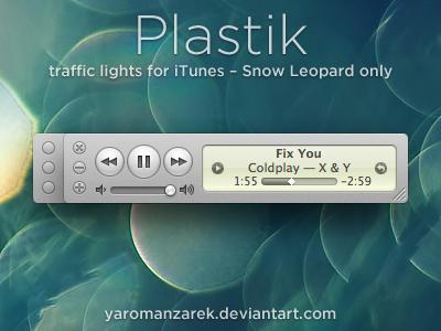 Plastik for iTunes