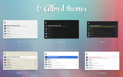 6 alfred themes