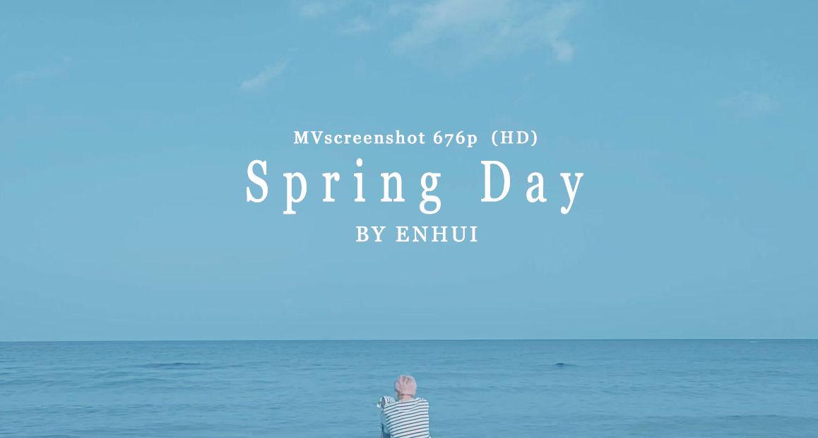 bts   spring day mv screenshot 676p  hd  by puenhui daysqyj fullview