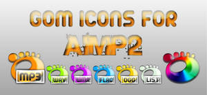 GOM icons for AIMP2 by FRANKO-12