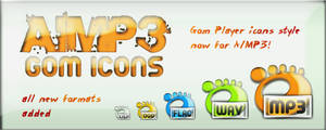 Gom icons for AIMP3 by FRANKO-12