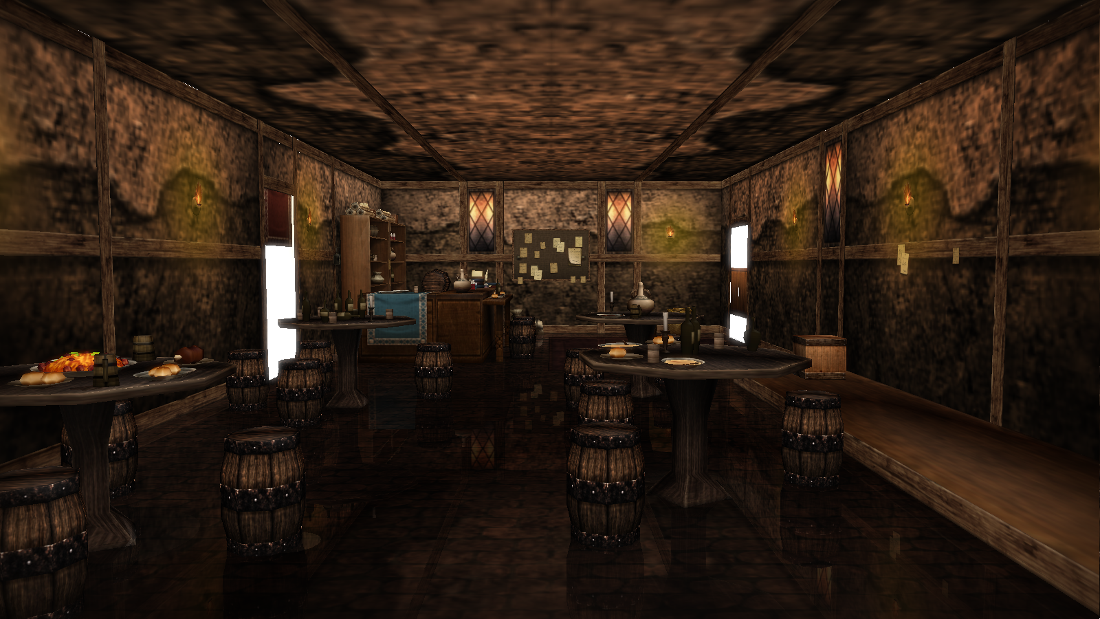 Old time bar with a few bones dl by kaahgome on deviantart - Pictures of bars ...