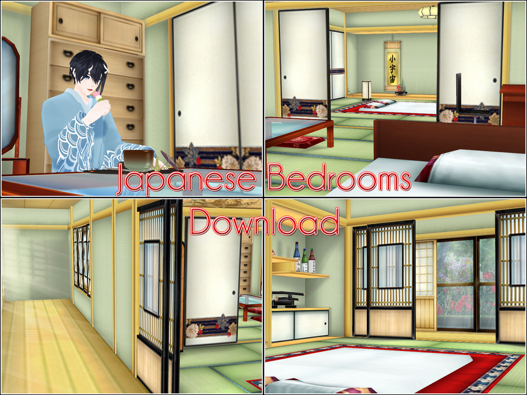 Washitsu   Japanese Bedrooms   Download By Kaahgome ...