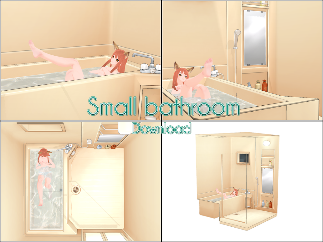Small Bathroom - DL - by kaahgome