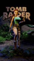 FMV Style Lara Croft for Blender v1