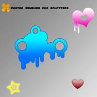 Vector-Splatter Brushes 6.0 by SaldaeanFarmgirl