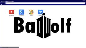 Bad Wolf Chrome Theme