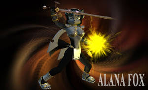 Mage Knight Alana by Bigjim3D