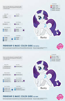 Rarity Color Guide 2.0 [UPDATED]