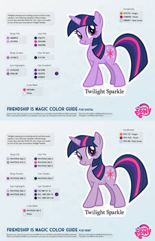 Twilight Sparkle Color Guide 2.0 [UPDATED]