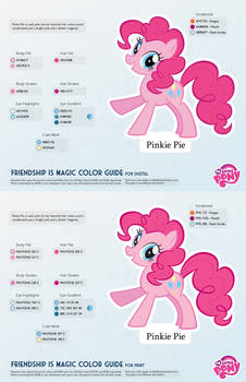 Pinkie Pie Color Guide 2.0 [UPDATED]