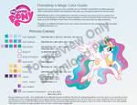 Princess Celestia Color Guide