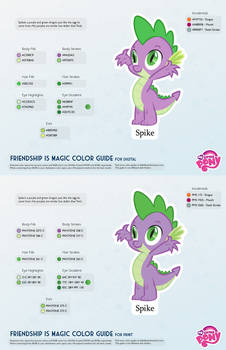 Spike Color Guide 2.0 [UPDATED]
