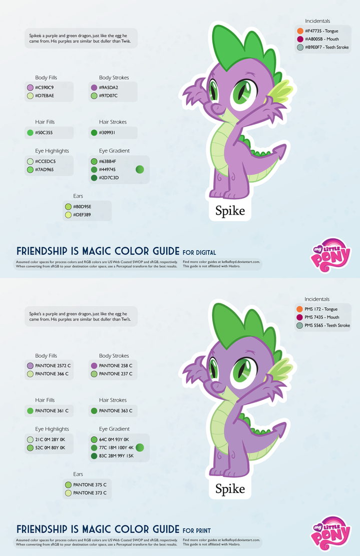 Spike color guide 20 updated by kefkafloyd on deviantart spike color guide 20 updated by kefkafloyd geenschuldenfo Image collections