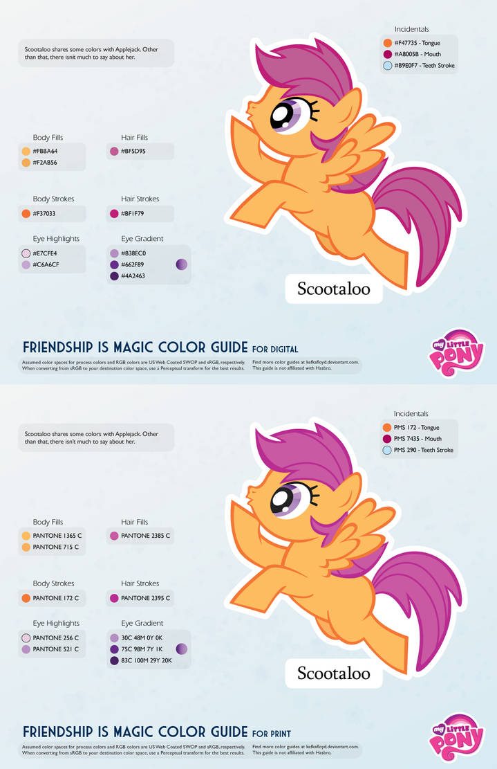 Scootaloo Color Guide 2 0 Updated By Kefkafloyd On Deviantart And we think you'll agree. scootaloo color guide 2 0 updated by