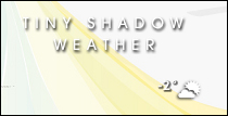 Tiny Shadow Weather - SysStats by chocolatemuffins
