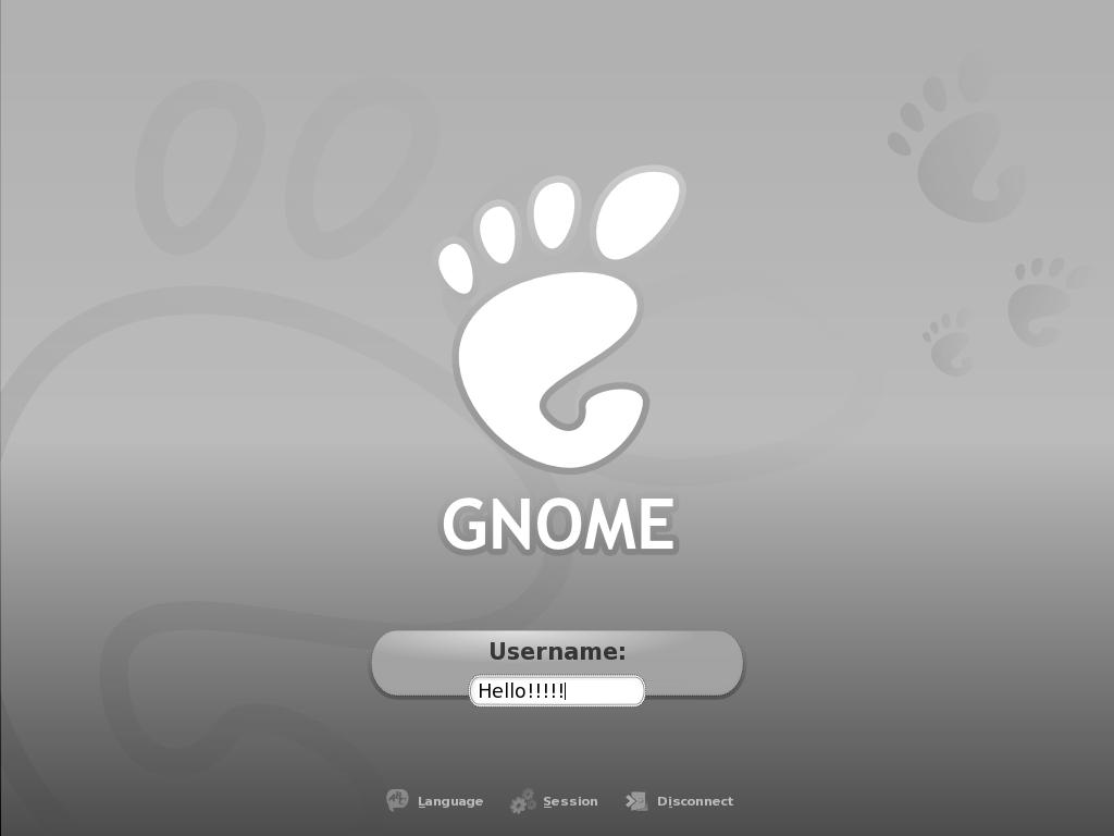Buh Grey GDM Theme by pookstar