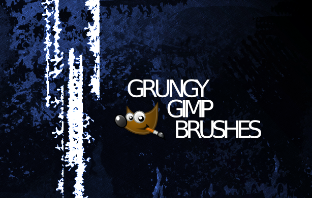 Gimp Grunge Brushes 1 by pookstar