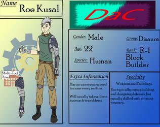 DaC App: Roe Kusal by CromaSins45
