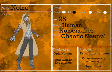 RoW Rogue: Noize by CromaSins45