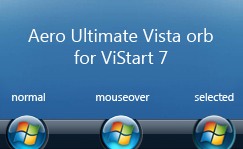 Aero Ultimate orb for ViStart by biondini