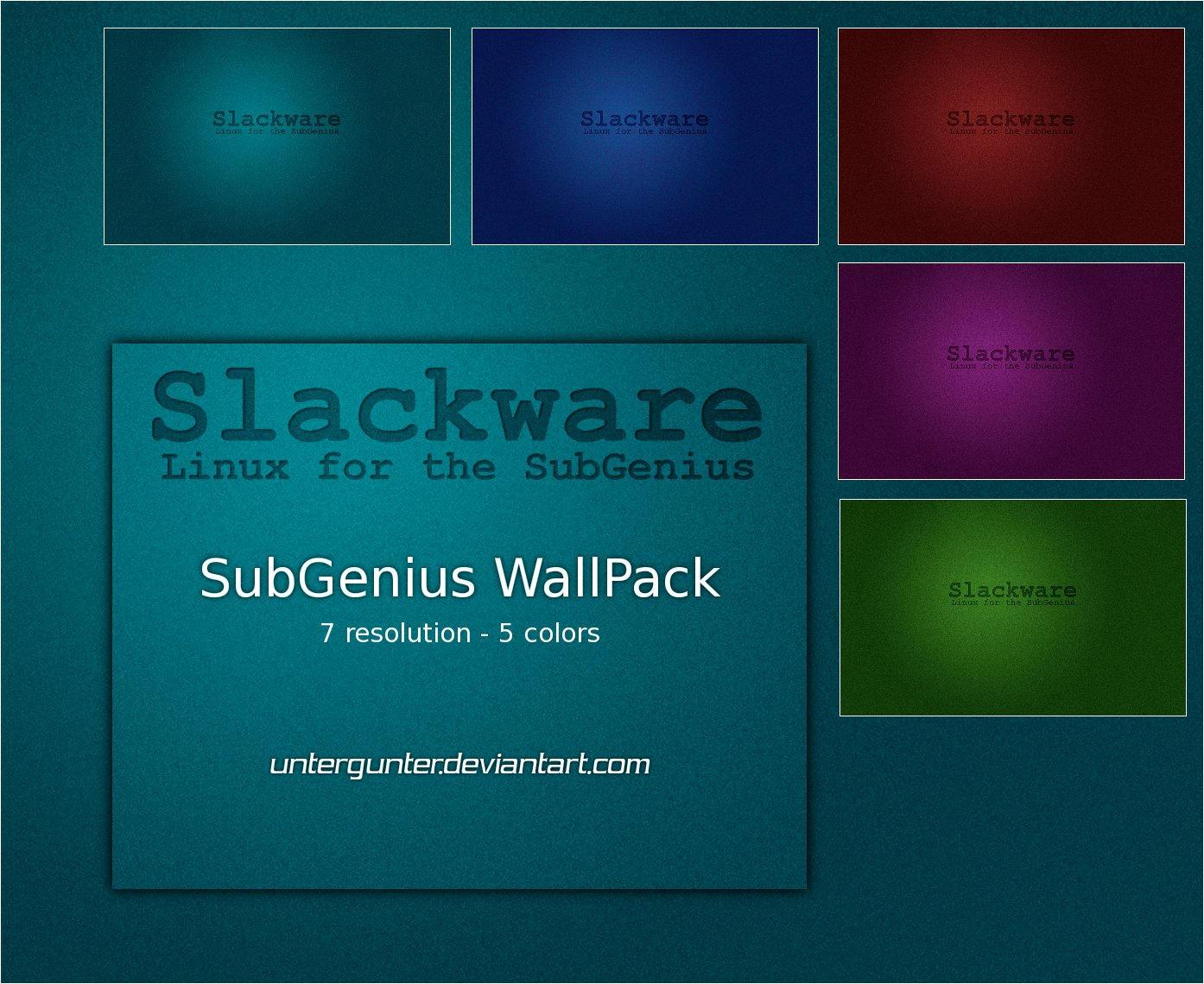 SubGenius WallPack by Untergunter