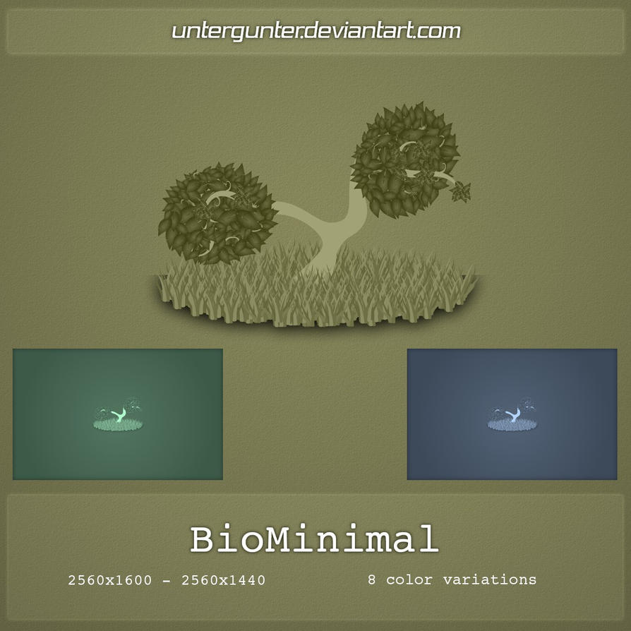 BioMinimal by Untergunter