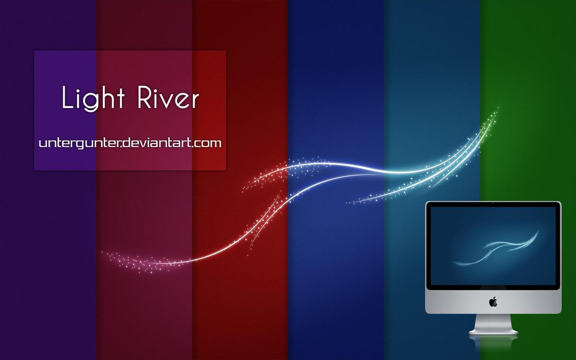 Light River by Untergunter