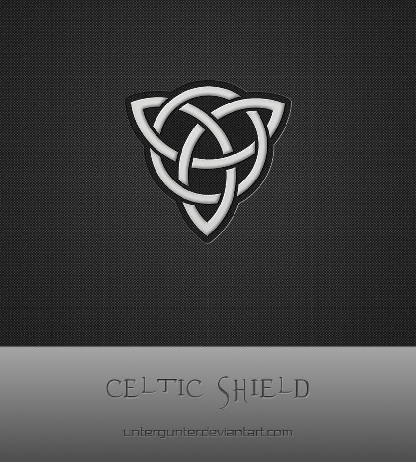 Celtic Shield by Untergunter