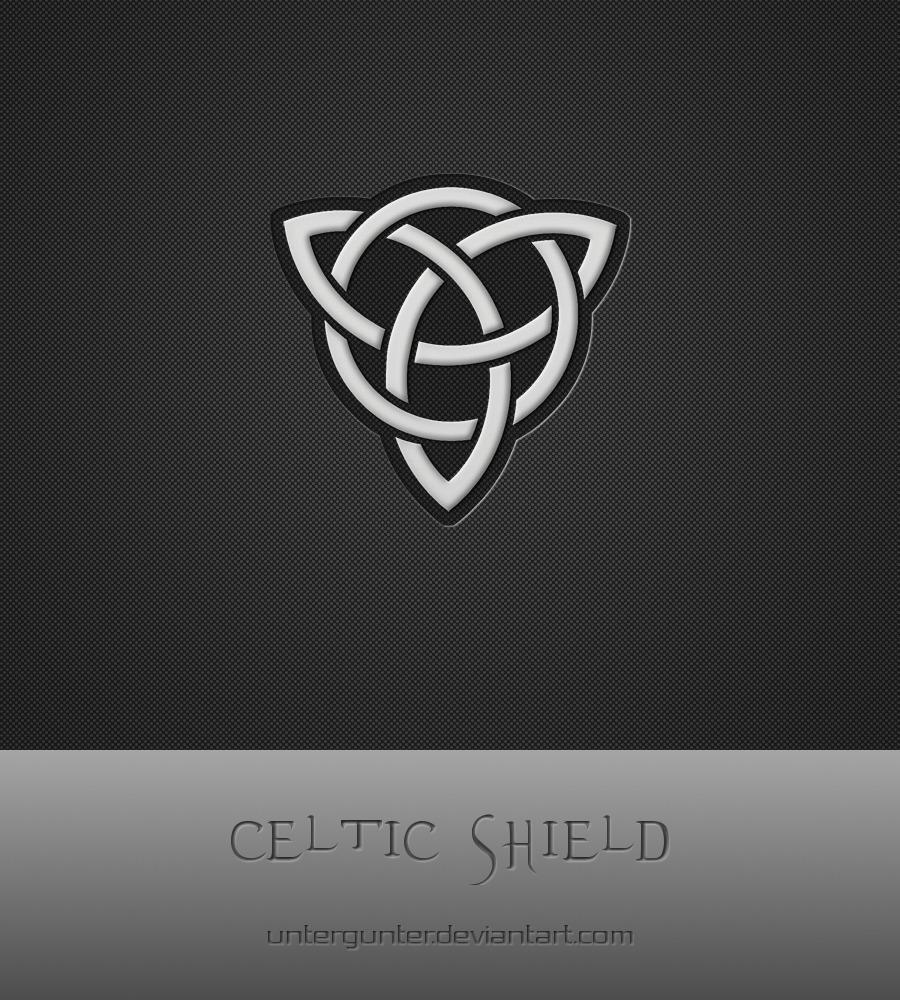 Celtic Shield by Untergunter