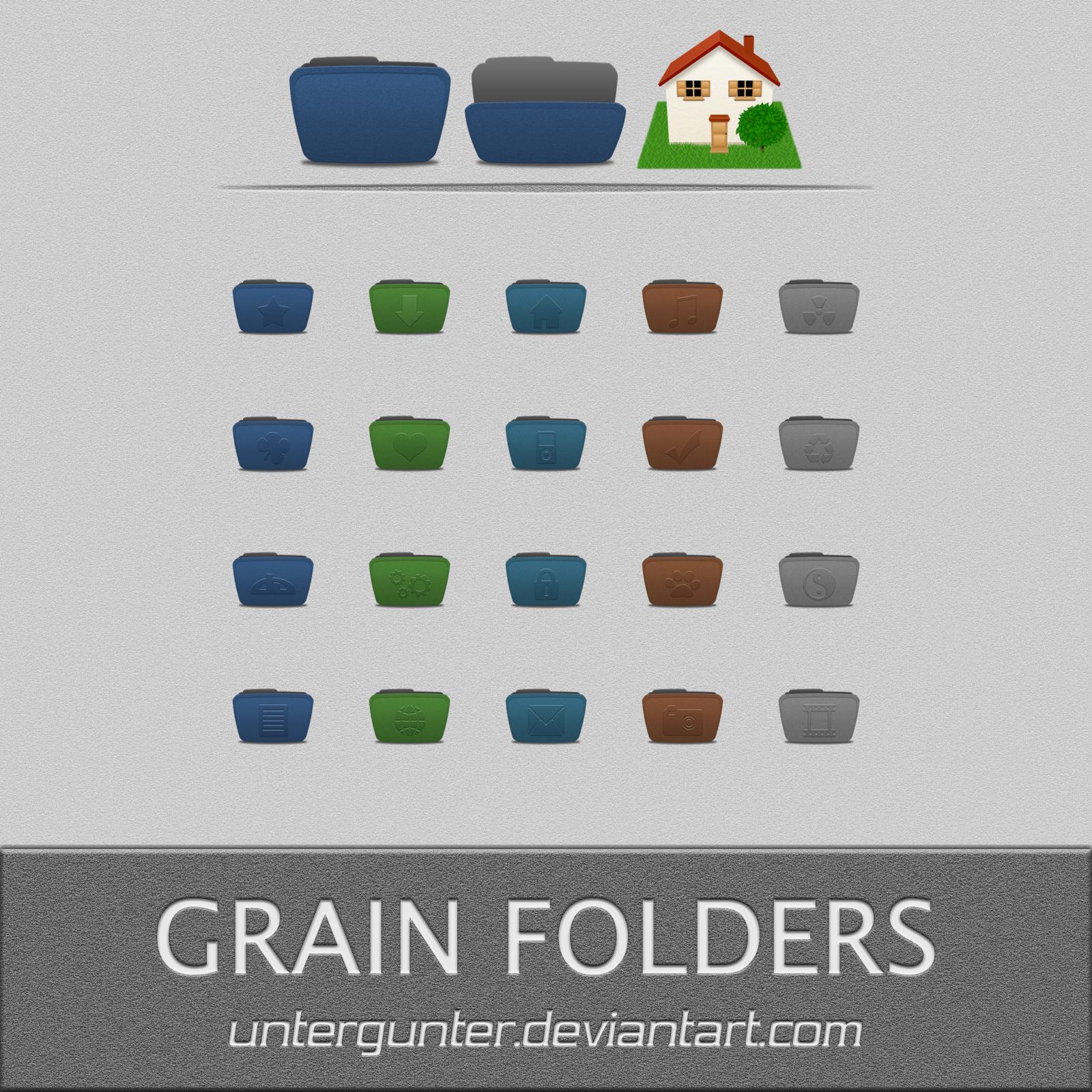 Grain Folders by Untergunter