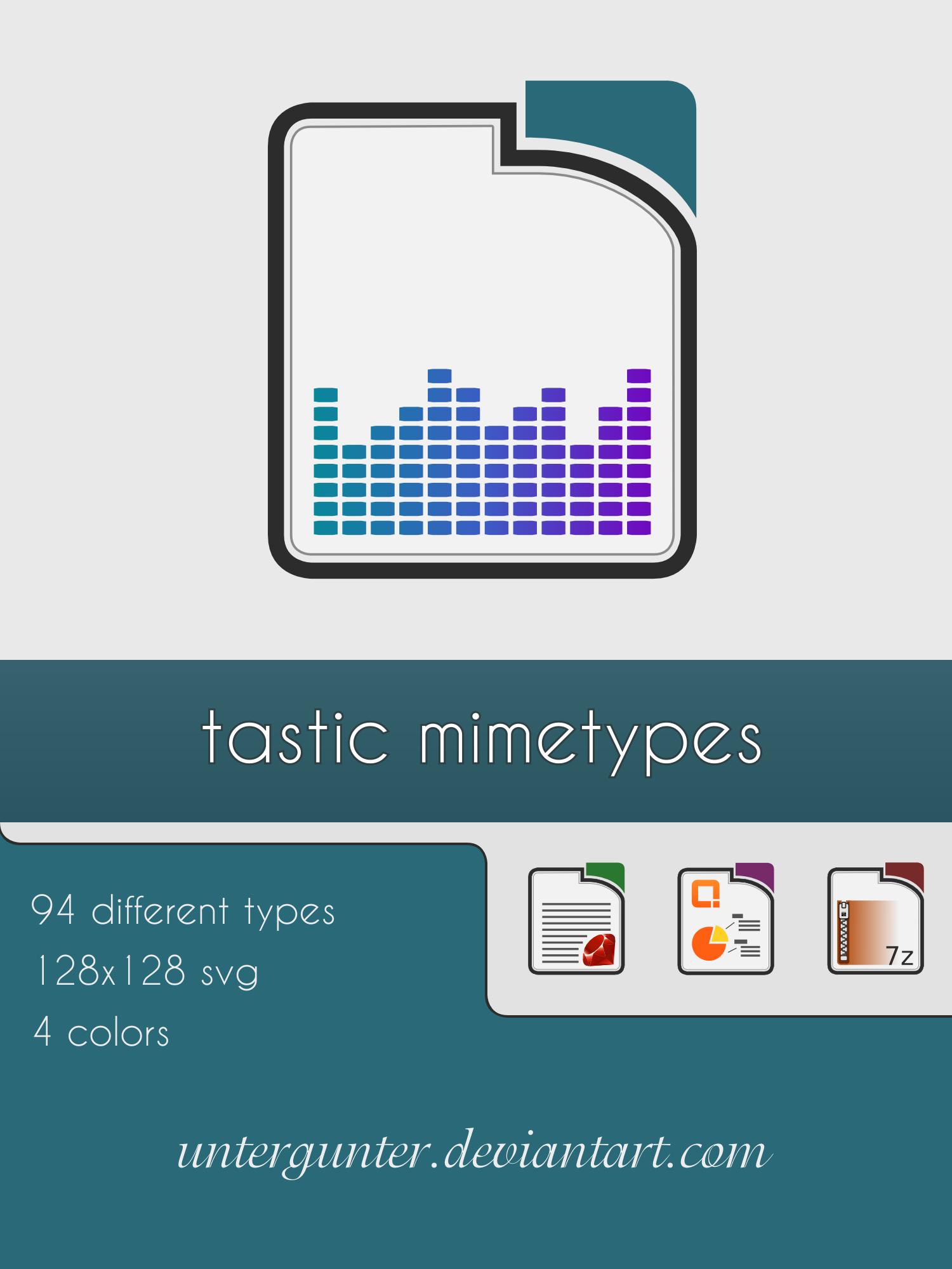 Tastic Mimetypes by Untergunter