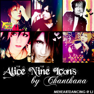 Alice Nine Icons by crazee-ass