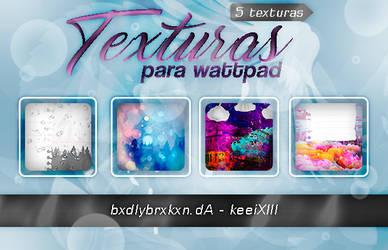 Pack de Texturas para Wattpad by bxdlybrxkxn