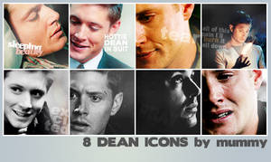 8 Dean Icons :1: by mummy16
