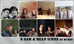 8 Sam and Dean icons :1: