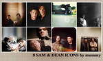 8 Sam and Dean icons :2: