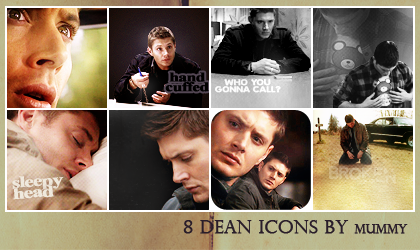 8 Dean Icons :7: by mummy16