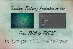 Seamless Texture Photoshop Action for DAZ3D by chrisryder123
