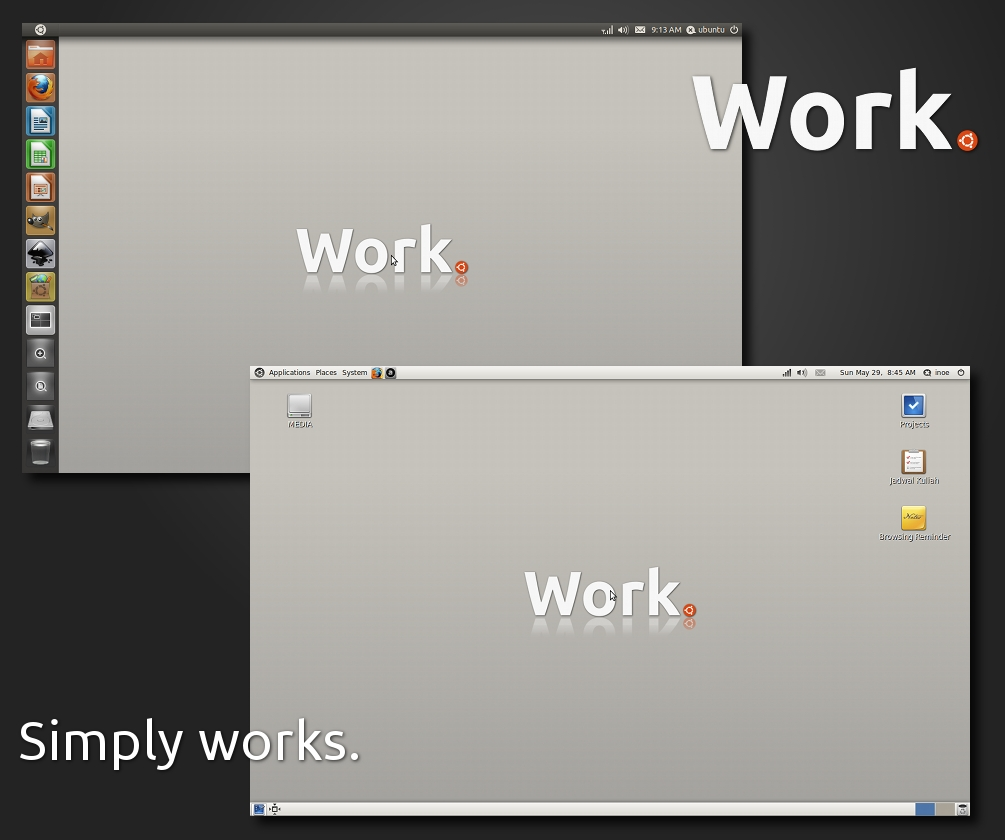 Work. With Ubuntu.