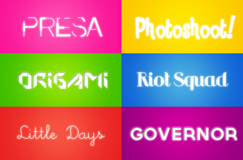 O6 fonts pack #O1. by hearttrouble