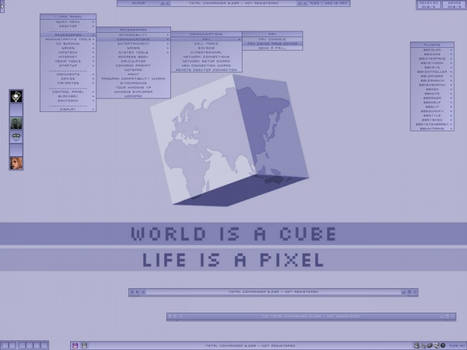 World is a Cube