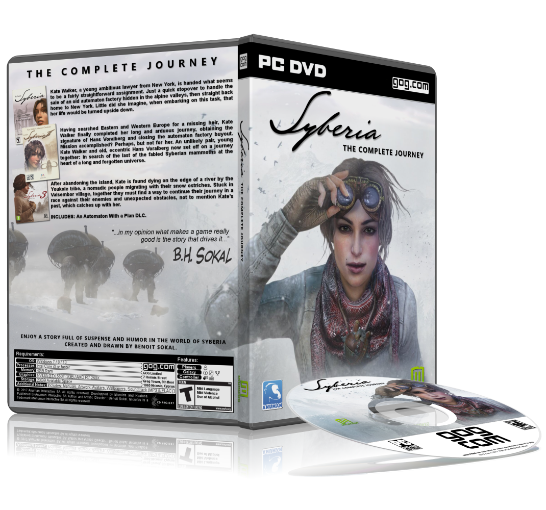 Syberia: The Complete Journey