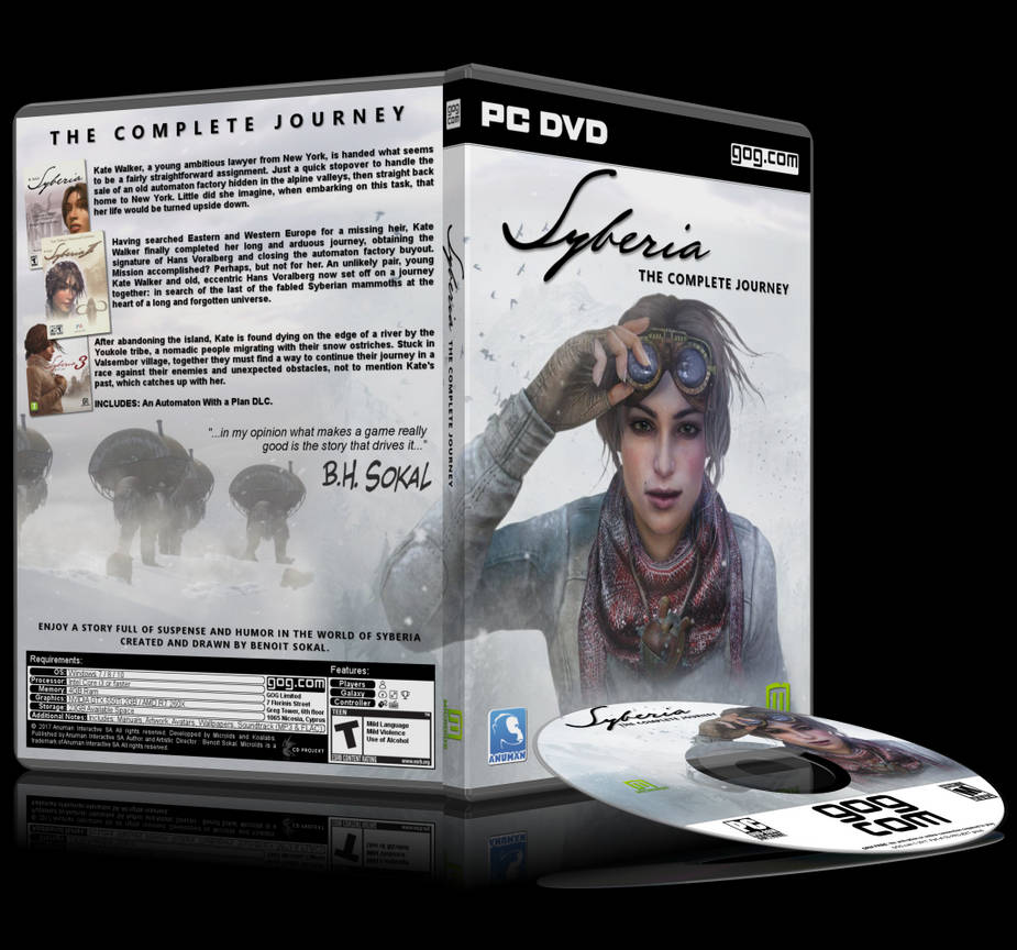 Syberia: The Complete Journey by arcangel33