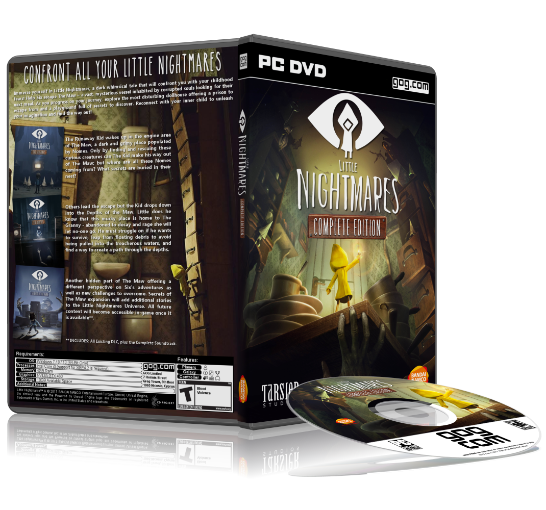 Little Nightmares: The Complete Edition by arcangel33