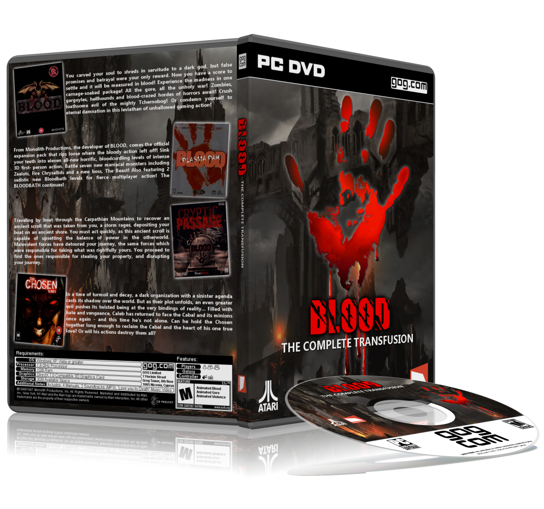 Blood: The Complete Transfusion