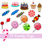 + Pack PNG'S Candy